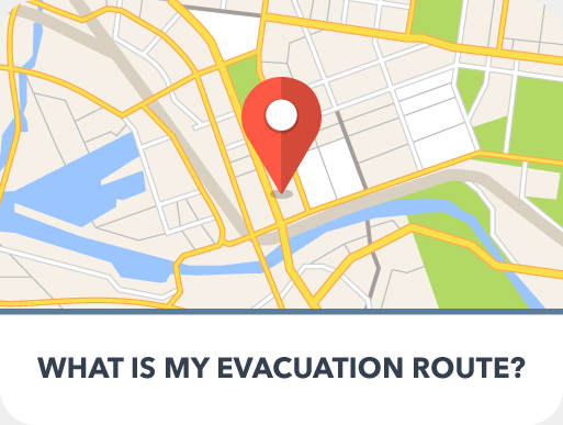 Evacuation-Route